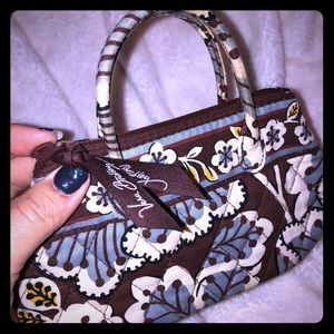 Vera Bradley coin purse/makeup bag